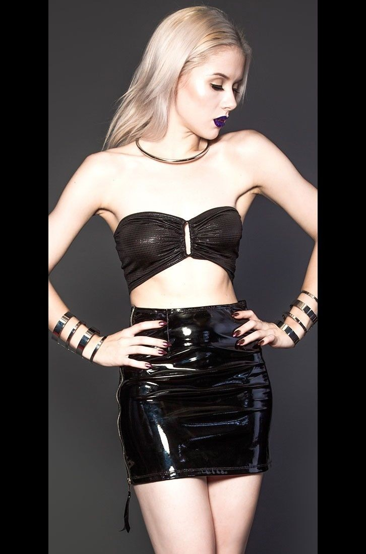 wholesale women sexy tight fetish leather vinyl /pvc/rubber latex dress gothic with zipper plus size