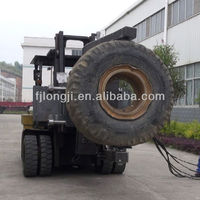 Manufacturing forklift parts hydraulic tire changer truck used