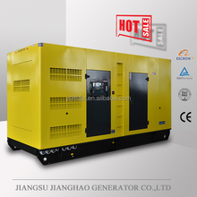 60HZ 400kva soundproof diesle generator with Volvo engine 320kw diesel generator with silent Canopy