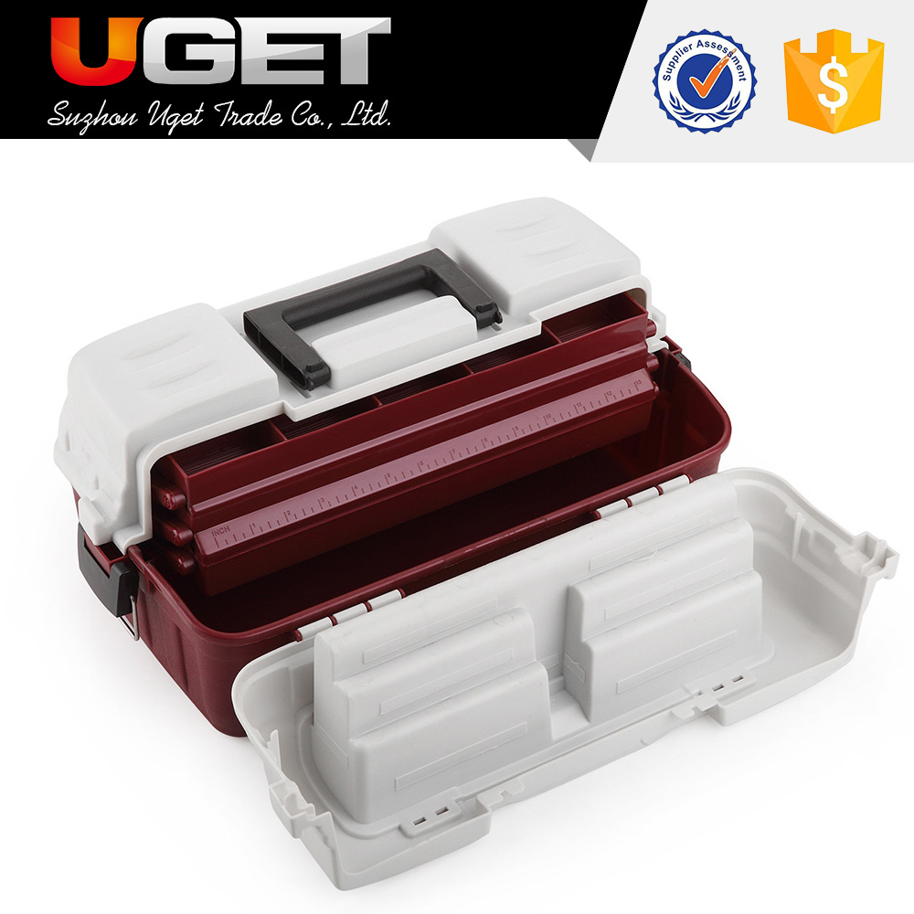 Chinese patent cheap transparent plastic fishing lure box for fishers