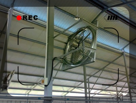 Exhaust Fan With CE/Industrial Exhaust Fan