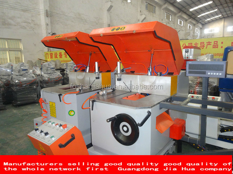 Heavy-duty double head cutting saw(Numerical control Aluminum alloy doors and windows machine/aluminium cutting machine machine
