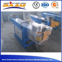 DW38NC round bar conduit large diameter manual pipe bending machine cost, elbow u bolt bending machine