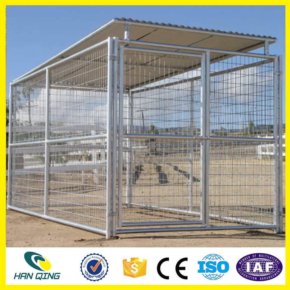 High Quality and beauty dog kennel with veranda in Alibaba Trade
