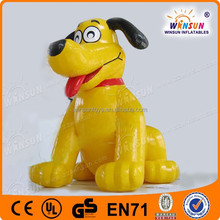 big commercial advertising shape inflatable puppy for sale