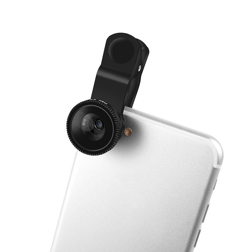 Fancy Tech Universal-Super-3-in-One-Zoom-Weitwinkelobjektiv-Teleskop Kameraobjektive für die meisten Telefone oder Tablets - ANKUX Tech Co., Ltd
