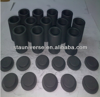 STA ISO quality refractory metal smelting graphite crucible