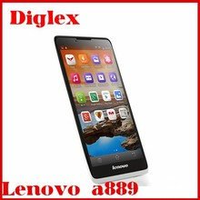Cheap new Lenovo a889 Phone Android 4.2 MTK6582 1GB+8GB 6.0 inch Dual sim Wifi Unlocked Mobile phone