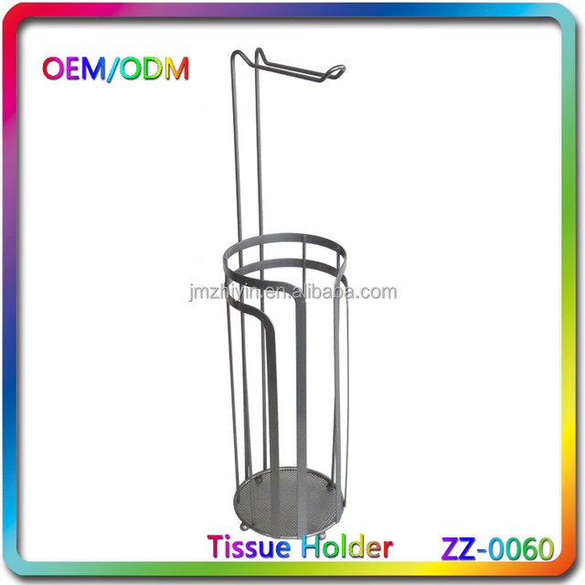 Silver metal chrome plated toilet tissue holder China manufacturer