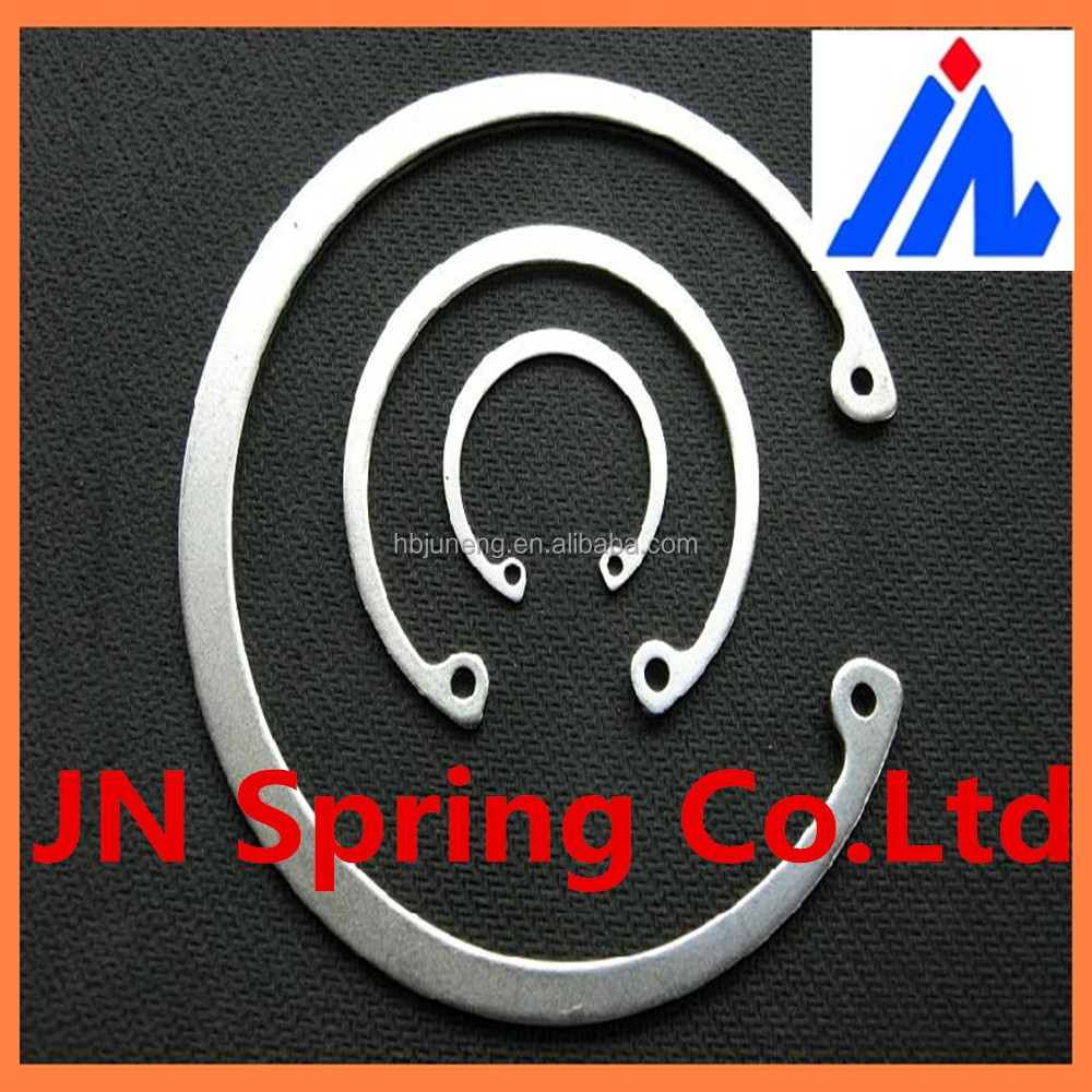High quality spring flat steel clip spring external retaining ring