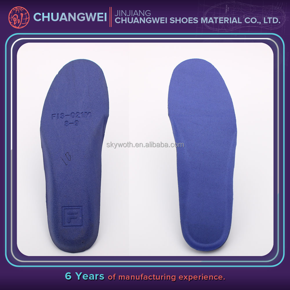 Warm ortholite water shoe insole