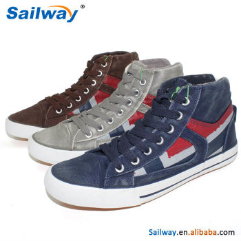 cowboy men's shoes Cowboy Series Fashion Mens Canvas Shoes 2015