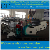 Famous Brand PVC artifical marble sheet machine