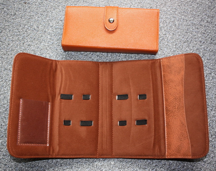 Leather scissors case