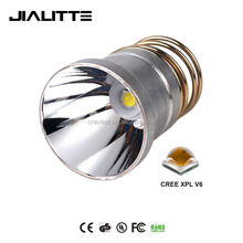 Jialitte F060 2017 Newest 26.5mm 2000Lm 1-Mode/3-Mode/5-Mode 1xCREE XPL V6 10W LED Lamp Drop-in for 501B 502B Flashlight