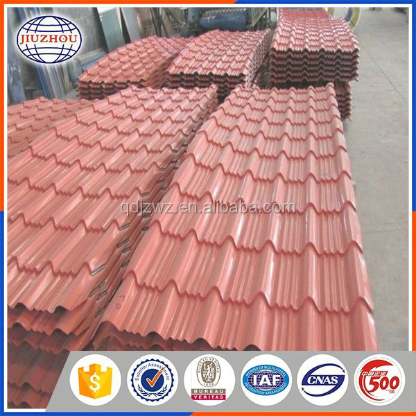 roof building material galvanized corrugated structural steel sheets grade