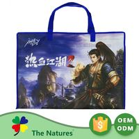 Hottest Custom Shape Printed Non Woven Tote Linen Plastic Recycle Bag