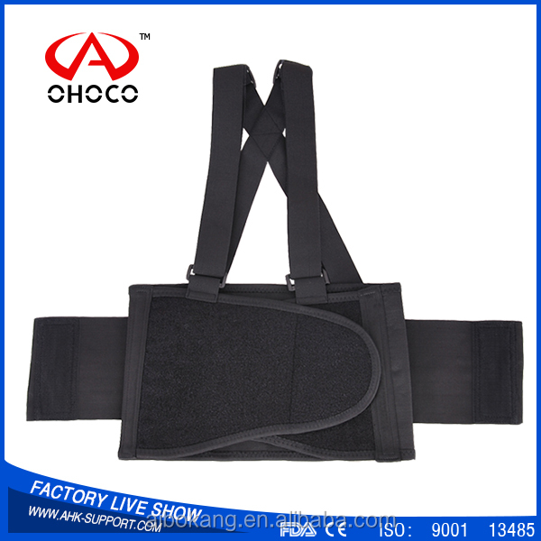2016 hot sell lumbar posture correction braces elastic back support belt