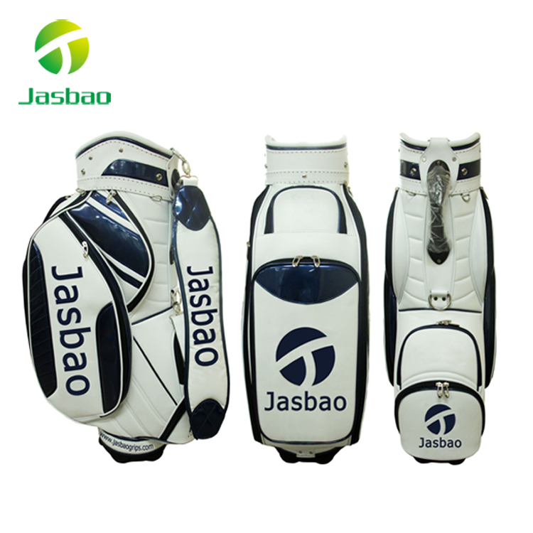 Customized Leather Golf Cart Bag Manufacturer