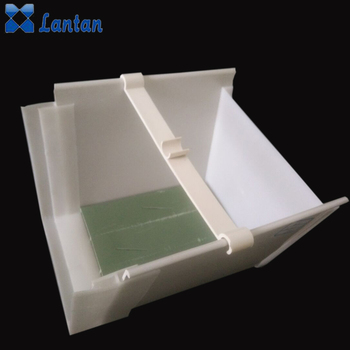 Quality PVC materials aquaponics hydroponic plant growing systems trays gutter