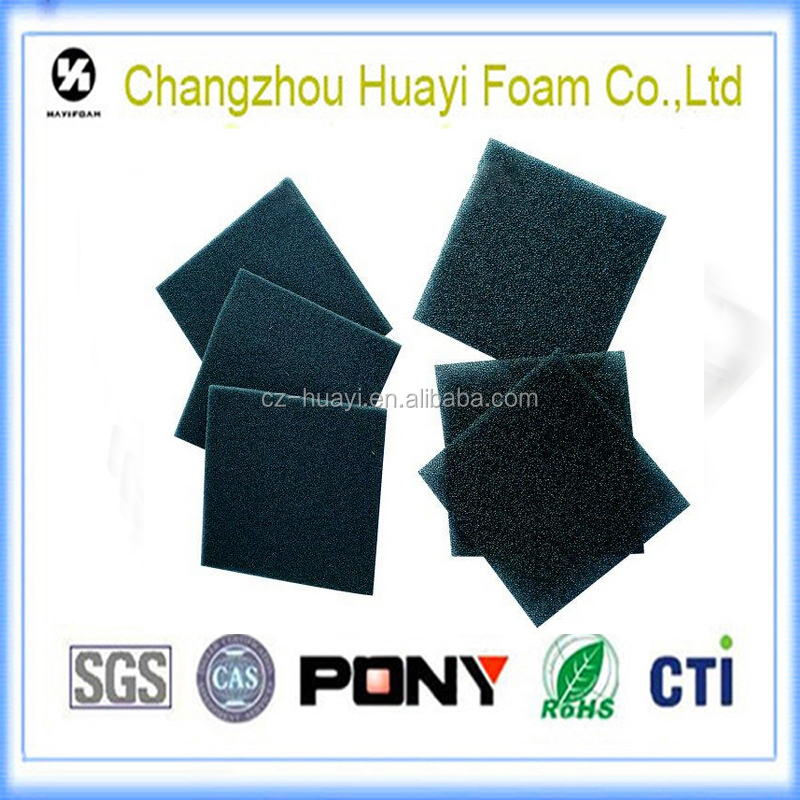 Flexible Granular Activated Carbon Sponge Air Filter Foam In Soft ...
