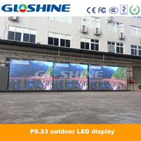 xxx video movable led display P8 waterproof outdoor LED screen