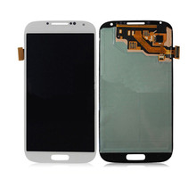 LCD Display Touch Digitizer Complete Screen Panels With Frame Replacement for Samsung Galaxy S4 oem
