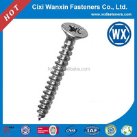 Manufacture yellow zinc anodized aluminum screw