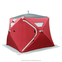 V1553-KD Wide Bottom Ice Fishing Shelters, Houses and Sheds