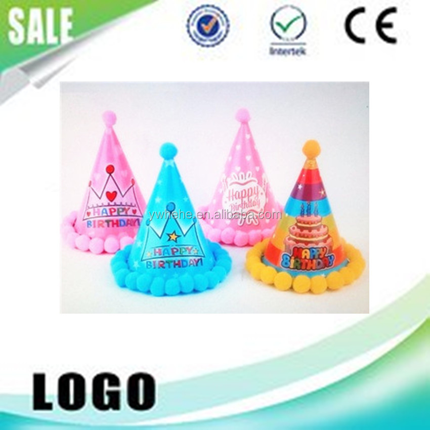 Wholesale Disposable Paper Crown Printed Hat