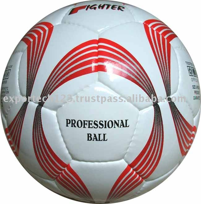 Hand Sewn PU / PVC Soccer balls For Training
