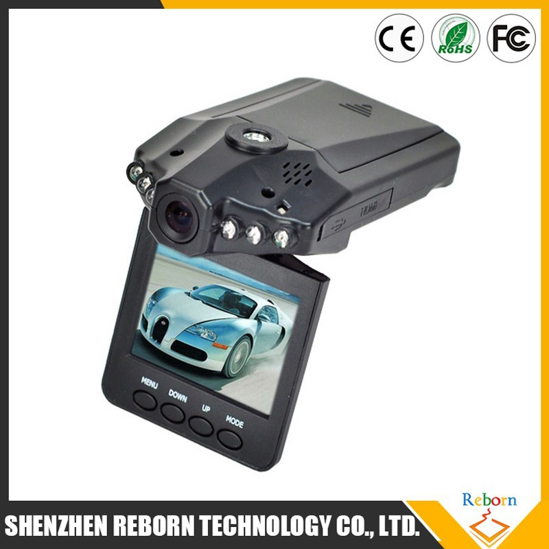 Wide View Angle 2.5 inch mini camera car dvr with video recorder