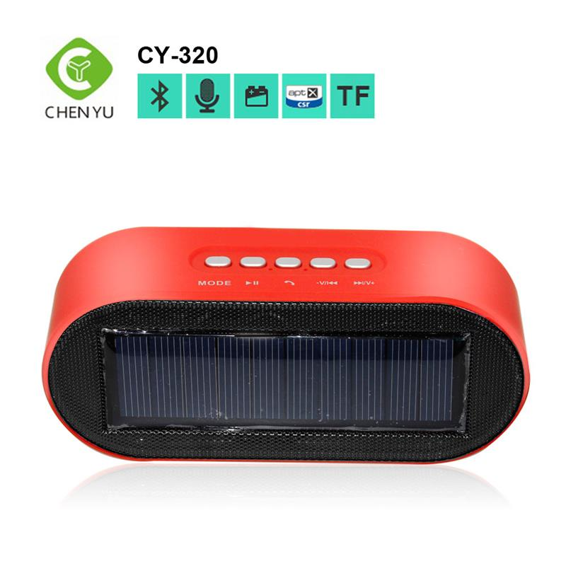 Portable Electronic gadgets Outdoor solar bluetooth speakers