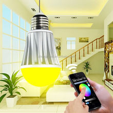 led spotlight wireless IOS &Android remote smart bulb vtac red type six led bulb