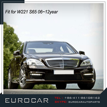 High quality MB W221 S-CLASS S63 S65 A STYLE PP body kit for car 2006~2012year