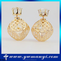 Beautiful fancy design high quality stone ziron earrings