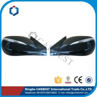 High Quality Side Mirror 6 Wires with Lamp Electric and Heating for Hyundai ix45 2013