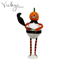 Vickyi Quality Primacy Witch Decorative Cap Party Flashing Gloves Holloween Led Lighted Gifts