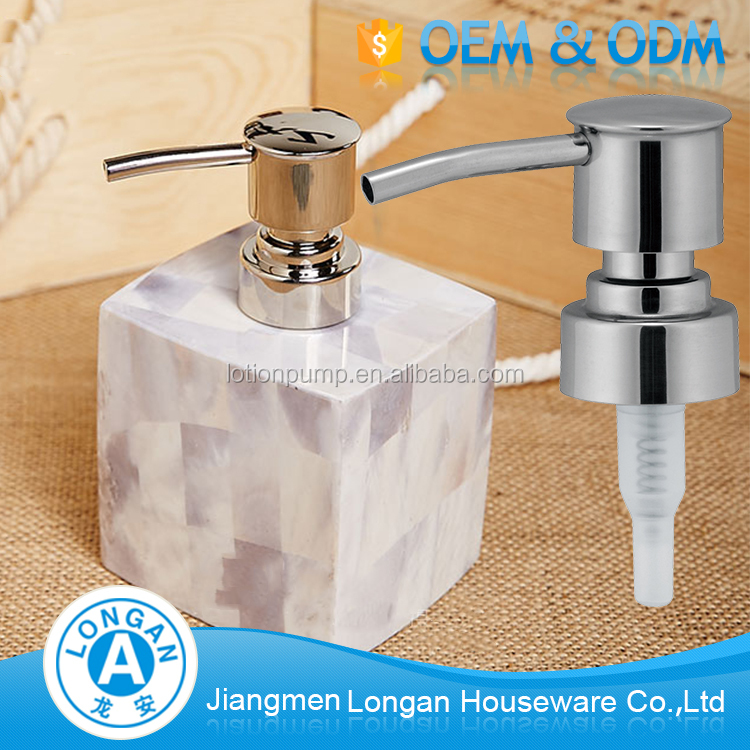 High quality factory custom 20/410 24/410 lotion soap plastic bottle with pump dispenser