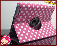 Wholesale polka dot.leather case for Apple Ipad Air