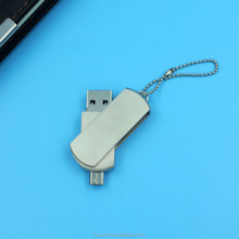 metal otg usb flash drives oem laser logo micro usb drives mobile usb drives