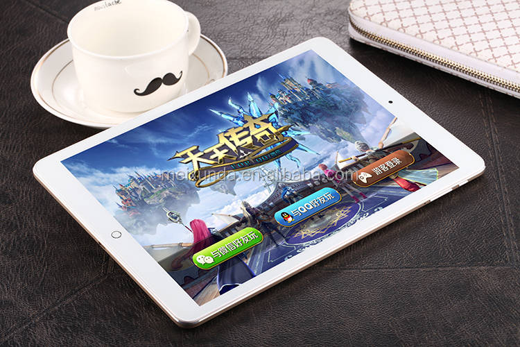 9.7 inch octa core tablet pc Android 4.4 dual camera 2.0mp+5.0mp tablet