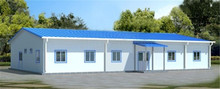 metal sheet wall fashionable guard houses cabins