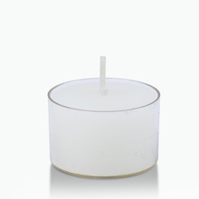 9 hours acrylic holder tea light unscented poly cup tea light candle