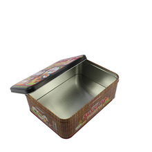Eco-Friendly Feature empty cute cartoon printing Sushi packaging tin can