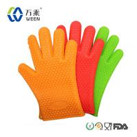novelty Amazon Selling Well BBQ Cooking oven mitts