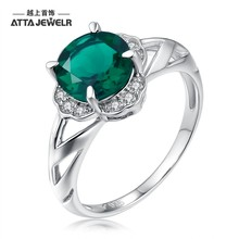 fantastic jewelry rings in silver jewelry with russian emerald stone