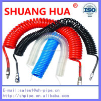 Air brake coil pu coil tube of pneumatic insulated flexible hose