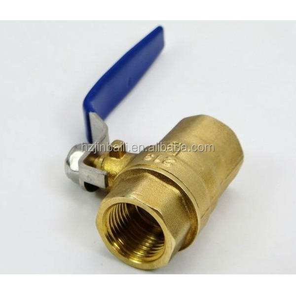 high pressure 2 way brass radiator thermostat stop valve