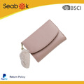 Fashion Wallet And High Quality Pu Leather With Pendant For Cute Girl